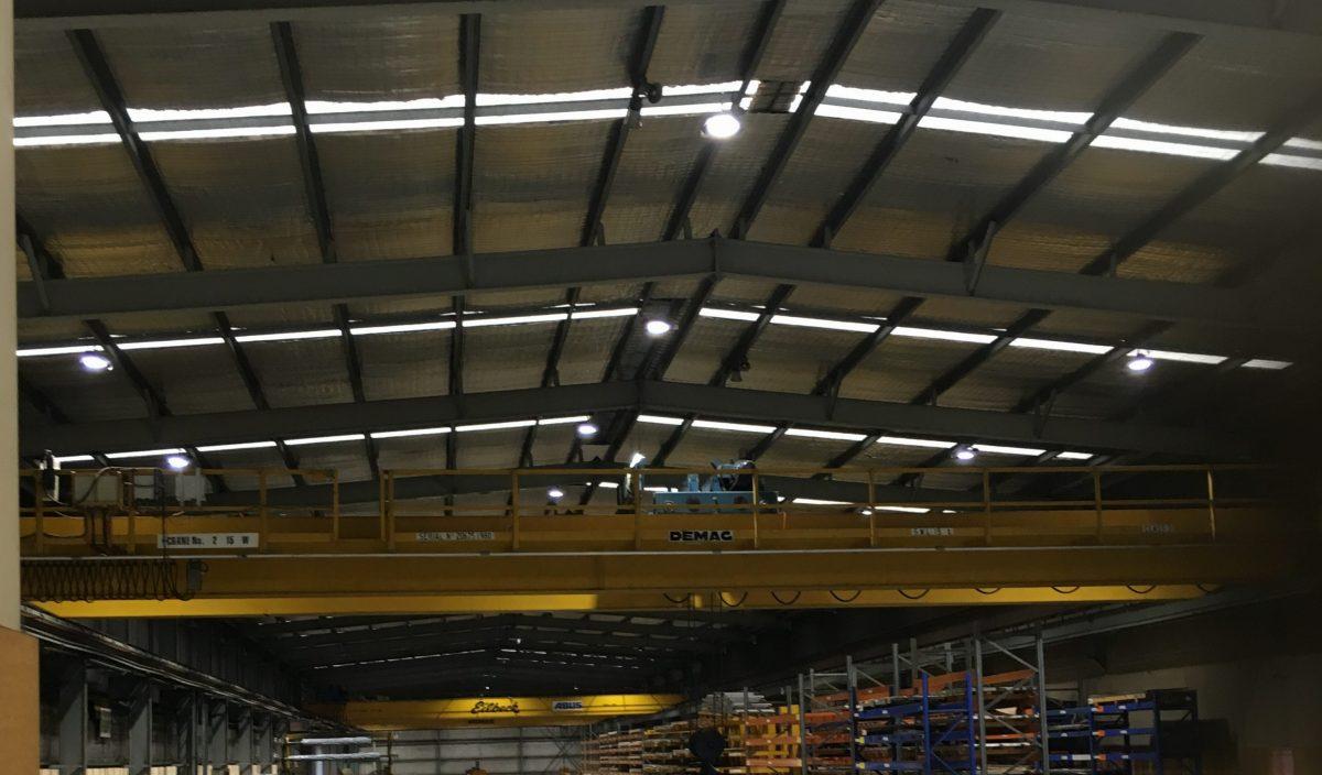 Vulcan Steel - littil LED lights