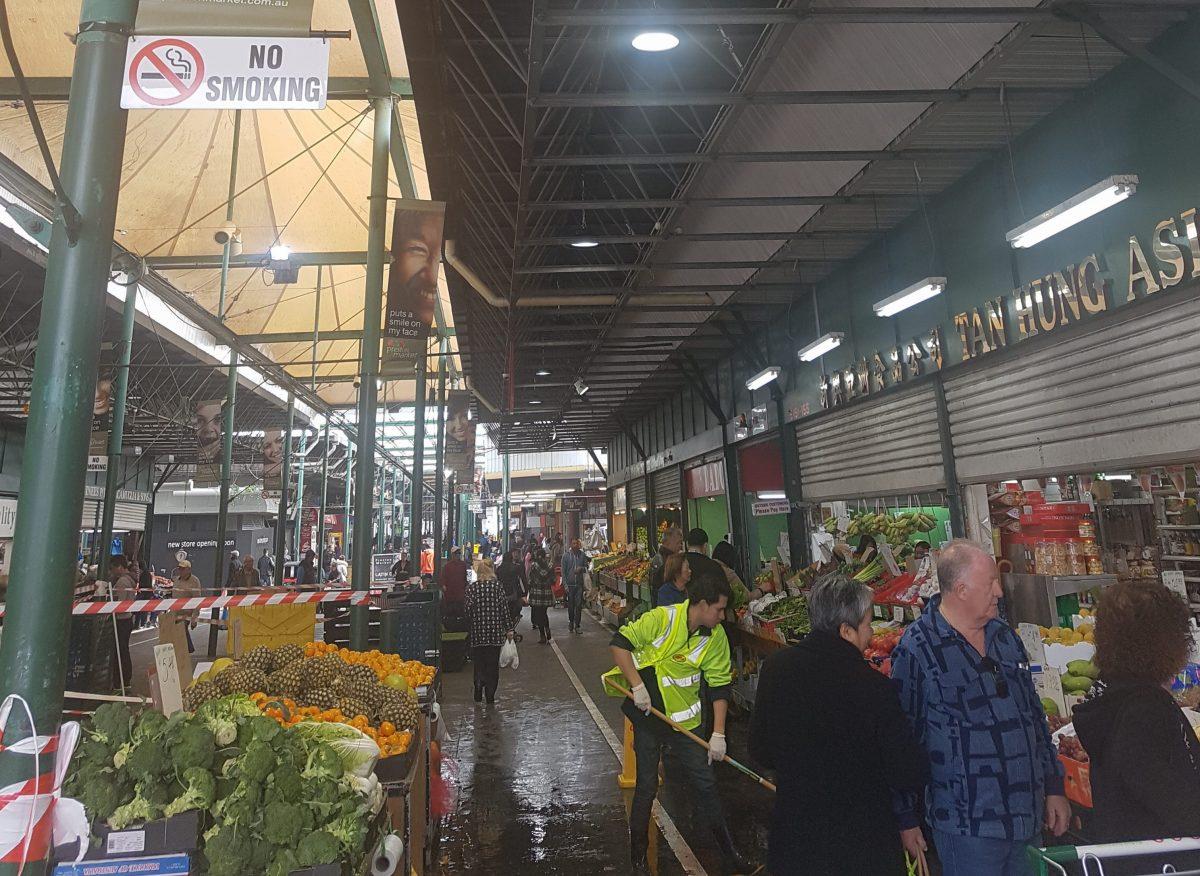 Preston Market - littil led lights